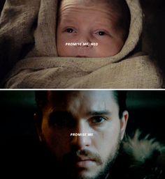 """Promise me"" Lyanna Stark"