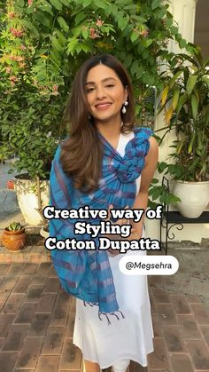 Casual Indian Fashion, Indian Fashion Dresses, Teen Fashion Outfits, Diy Clothes Life Hacks, Clothing Hacks, Diy Fashion Hacks, Fashion Tips, Saree Wearing Styles, Designer Party Wear Dresses