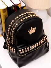 Shop Bags for women on sale with wholesale cheap discount price and fast delivery, and find more cute candy Bags & bulk Bags online with drop shipping. Cute Mini Backpacks, Stylish Backpacks, Girl Backpacks, Cheap Backpacks, Leather Rivets, Black Faux Leather, Backpack For Teens, Backpack Bags, Hiking Backpack