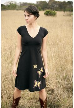 Butterfly Family Meadow Dress