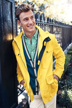 Our new line of men's storm raker jacket are sure to please for your next weekend on the water