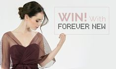 We have partnered up with Forever New for this amazing competition to give you the chance to win 4 Monique Dresses for your Bridesmaids! Forever Book, Forever New, Pink Book, Bridesmaids, Bridesmaid Dresses, Wedding Book, Dress For You, Special Day, Awesome