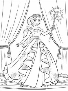 Princess Elena Coloring Page Princess Elena Coloring Page. Princess Elena Coloring Page. Fresh Coloring Pages Elena Avalor for You with Images in princess coloring page Coloring Pages Elena Avalor Coloring Best For Kids Tangled Coloring Pages, Barbie Coloring Pages, Heart Coloring Pages, Disney Princess Coloring Pages, Disney Princess Colors, Disney Colors, Cute Coloring Pages, Cartoon Coloring Pages, Animal Coloring Pages