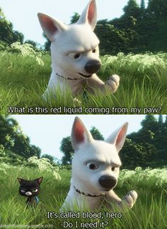 This is (or was) my sister's favorite movie line to quote...