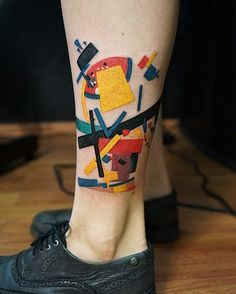 Suprematist composition 2 by Kazimir Malevich Tattoos For Guys, Tattoos For Women, Cool Tattoos, Tatoos, Explore Tattoo, Kazimir Malevich, Arrow Tattoos, Body Mods, Ink Art