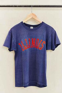 Vintage Illinois Tee Urban Outfitters Women ee63064e0