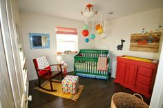Project Nursery - Bright and Colorful Nursery