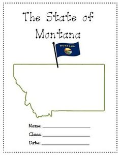 Montana A Research Project is a 16 pages study on Montana. Use it as a class test or research project.Download Preview File - Please view the Montana Research Project state preview file prior to purchasing as the preview is all the resources in this pack.