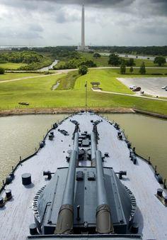 USS Texas (The Battleship of Texas) and San Jacinto Monument