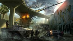 Call_of_Duty-Black_Ops_2_Concept_Art_LA_collapsedFreeway_final