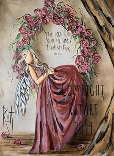 Angel Artwork, Angel Paintings, Cute Pink Background, The Art Sherpa, Angel Pictures, Christmas Drawing, Art Walk, Learn To Paint, Art Google