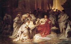 Karl von Piloty (1826–1886)  The Murder of Caesar