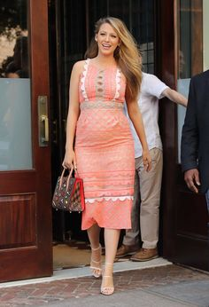 Pin for Later: Blake Lively Practically Glows While Out and About in NYC