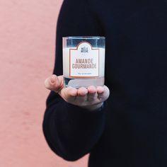 "La Belle Meche - Candles french sweets - Bougie parfumée ""amande gourmande"""