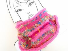 Hand Knitted Pink Multicoloured Artisan Textured by sweetiepips  https://www.etsy.com/listing/189690925/hand-knitted-pink-multicoloured-artisan?ref=shop_home_active_7