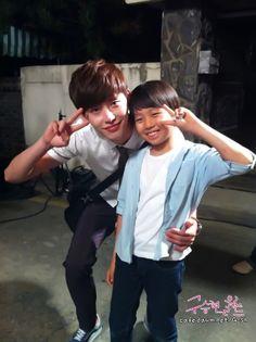 Goo Seung Hyun and Lee Jong Suk (the Young and Present Park Soo Ha)