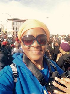 My wife was in Selma making history