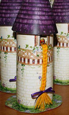 Torre Rapunzel - Souvenir Portagolosinas