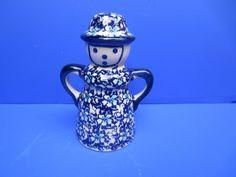 Bunzlau Bunzlauer Keramik großer Streuer figürlich 14 cm