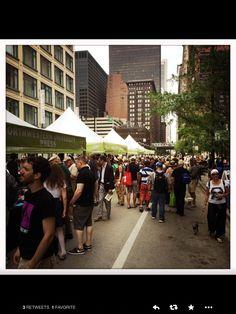Printer Row book fair - Chicago