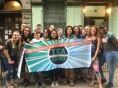 Our amazing campers and staff at the YEA Camp meet-up in NYC. We spend the day at the National Animal Rights March, making our voices heard!