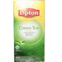 I'm learning all about Lipton Green Tea 100% Natural Tea Bags 6 Boxes. 100% Natural Green Tea at @Influenster!