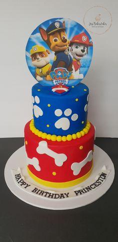 Ideas Birthday Cake Baby Boy Paw Patrol For 2019 Paw Patrol Torte, Paw Patrol Cupcakes, Paw Patrol Birthday Cake, Twin Birthday Cakes, Special Birthday Cakes, 3rd Birthday, Birthday Ideas, Pastel Paw Patrol, Snowflake Wedding Cake