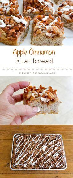 Apple Cinnamon Flatbread from Italian Food Forever
