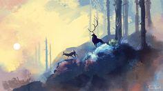 Forest Prince by chaoslavawolf.deviantart.com on @deviantART