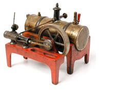 small pre WWII live model steam engine