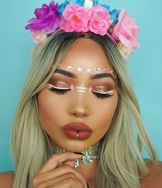 #Festival #Coachella #Makeup Vibez @thefashionfreakk| Be Inspirational ❥|Mz. Manerz: Being well dressed is a beautiful form of confidence, happiness & politeness