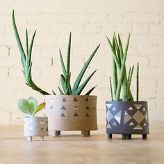 Heidi Anderson Triangle Planter at General Store