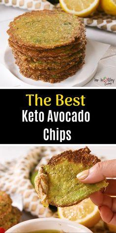 The best keto avocado chips - avocado recipes - Avocado Chips, Keto Avocado, Avocado Toast, Baked Avocado Egg, Avocado Juice, Avocado Salad, Low Carb Recipes, Diet Recipes, Cooking Recipes