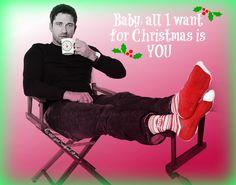 Gerard Butler's Christmas wish....