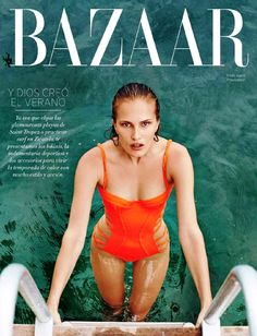 Harper's Bazaar Mexico July 2014   Alla Kostromichova by Danny Cardozo [Editorial]