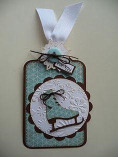 Cricut Winter Woodlands cartridge tag