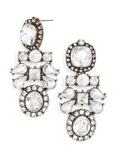 Von Trapp Drop Earrings, $15 {so pretty}