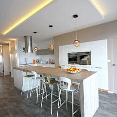 Faux Plafond De Plâtre Pour La Décoration De Cuisine My House