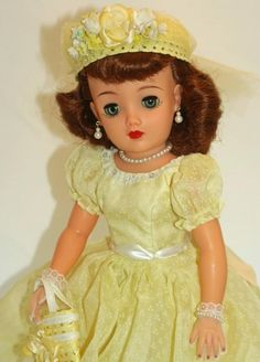 "LOVELY Redhead! Ideal Miss REVLON vt-20 Vintage 50's 20"" Fashion Doll Cissy pal"