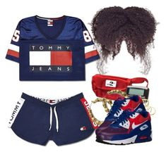 """""""5/27/17"""" by jasmineharper ❤ liked on Polyvore featuring Gorjana and NIKE #schooloutfits"""