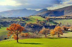 Matelica, paesaggio autunnale dei dintorni (Marche)