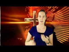 Sara Teaches the Lord's Prayer in Sign Language - YouTube