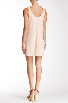 Lace Shift Tank Dress by Soprano on @nordstrom_rack
