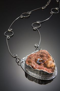 Sterling Silver Necklace One of a Kind Handmade Jewelry Wild Prairie Silver To Find My Center