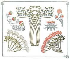 Inspiration from Maurice Pillard Verneuil, from Combinaisons ornementales (Ornamental combinations), Paris, not dated.