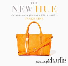 Tangerine: explore the inspiration behind our current color crush