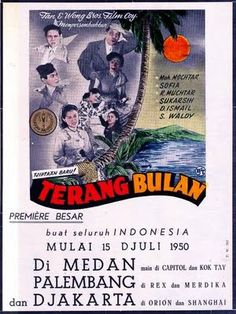 Terang Bulan Movie Poster 1950