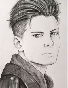 My Portrait of Otabek Altin from Yuri On Ice.