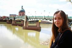 German beauty at the French La Garonne in Toulouse. Check out my travel blog!