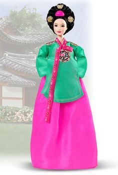 2005 - Dolls of the World® - The Princess Collection - Princess of the Korean Court™ Barbie® #B5870